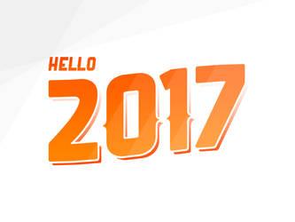 Hello 2017 by AndrewDavidJ