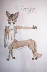 Coyotetaur by panhellsing66