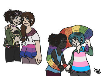 More LGBTQ+ Ships by fire-birdy