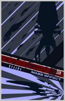 Mass Effect 3 Poster by Fire1138