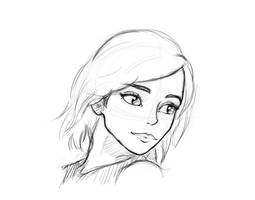 Sketch at night - Begin by LesDessinsDeYann