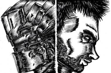 DEAD SPACE 2 Isaac Clarke by mangaka350