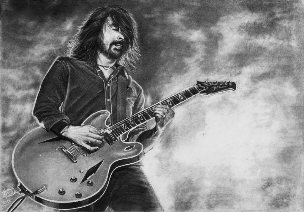Dave Grohl by Joan95