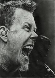 James Hetfield by Joan95