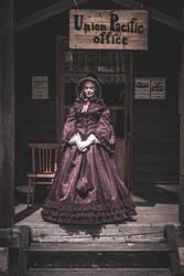 American Civil War area dress by Iardacil