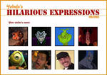 My Top 8 Hilarious Expressions by nikolas-213