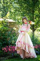 Sakura and the Flower Card by AnnieChie