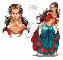 Eliz - Character Sheet by Honeyeater