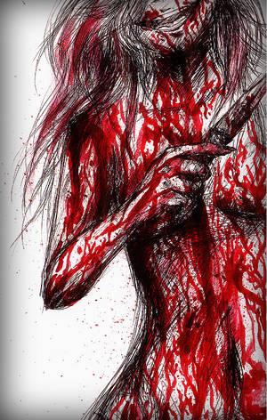 Psycho  II by Jennvo