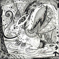 Zentangle Bunny by Iquey