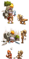 chibis dofus mag encore by forkmotion