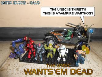 MB Halo - UNSC Wants-em Dead by SturmvogelPrime