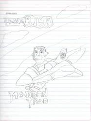 Videorisa - Madden Trad (Boceto) by SturmvogelPrime