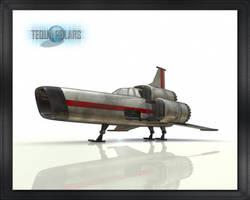 Battlestar Galactica Viper 01. by TequaPolars
