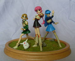 Magic Knight Rayearth Set by Mako-chan89