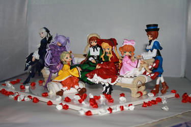 Rozen Maiden on couch set 9 by Mako-chan89