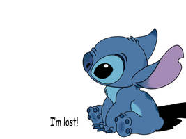 Aww Stitch by ditzy