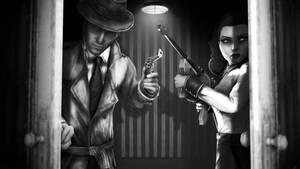 Bioshock Noire by Yhrite