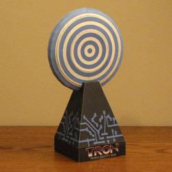 Tron Disc Papercraft by Tektonten