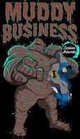 Batman vs Clayface by CartoonArtworks