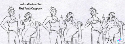 Weight Gain Milestones - First Outgrown (Part 2) by ExtraBaggageClaim