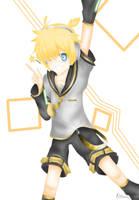 Kagamine Len by askmaya