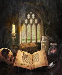 Magic Study by FictionChick