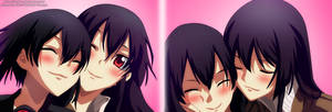 Akame Ga Kill _ Akame and Kurome by AnimeFanNo1