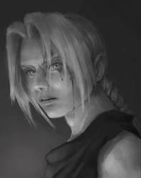 Edward Elric - Fullmetal Alchemist FANART by Mumuchi
