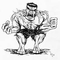 We Have A Hulk by AtlantaJones