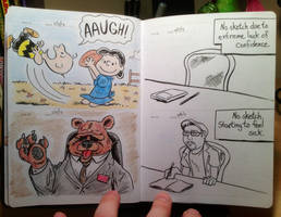 Sketch Dump: Days 17 - 20 by AtlantaJones