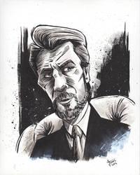 Hans Gruber from Die Hard by AtlantaJones