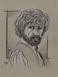 Tyrion Lannister Sketch by AtlantaJones