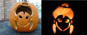Korra Pumpkin by Maddyfae