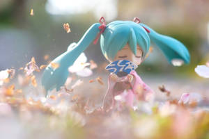 Miku's sakura dance by MinoruneTomo