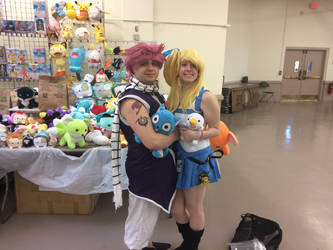 Natsu and Lucy Cosplayers by Undertaker972