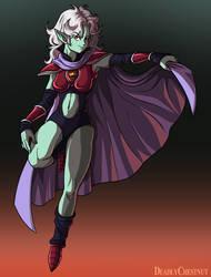 DBZ villain OC: Spice Sister Lavender by KaijuDuke