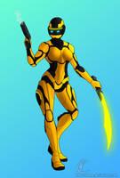 Metal Heroine by KaijuDuke