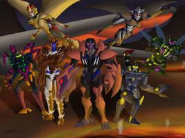 The DarkSyde Crew by KaijuDuke