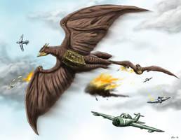 Terror in the Skyyyyyyyy! by KaijuDuke