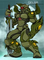 Knightly Gelga by KaijuDuke