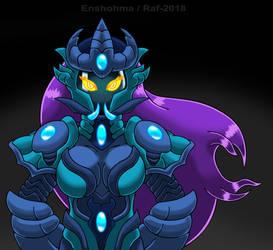 Kaiju Portrait Armored Tiamab by KaijuDuke