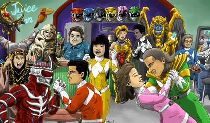 Happy 25th Anniversary Power Rangers by KaijuDuke