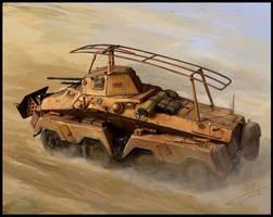 sdkfz 232 by Perun-Tworek