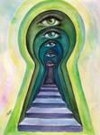 Keyholes of Generations by Sara-Arasteh