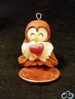 VDay Owl by LuckyCrisis