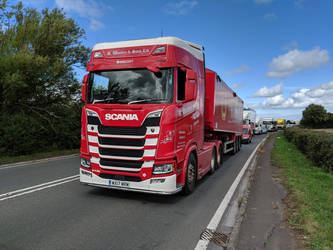 R. Wookey  Sons Scania S 2016. by thinskin45