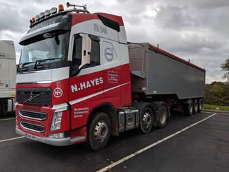 Nigel Hayes Volvo FH by thinskin45