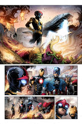 Marvel Colors Sample of Original Sin by CandiceHan