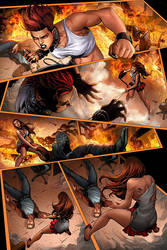 Valkyrie Saviors 2  Colors Page 02 by CandiceHan